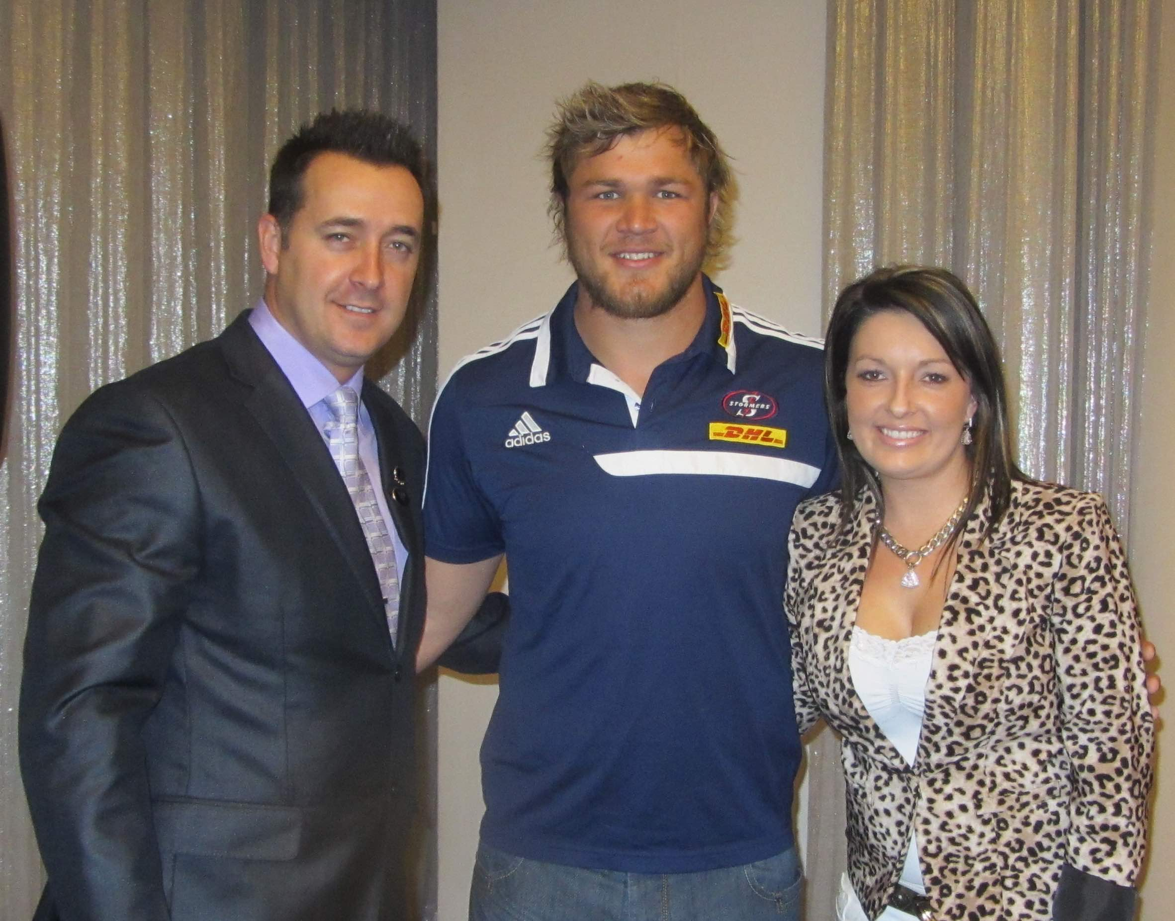 CCL Global Awards Mid Year 2013 with Duane Vermeulen
